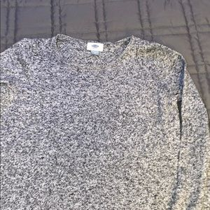 Grey old navy crew neck sweater